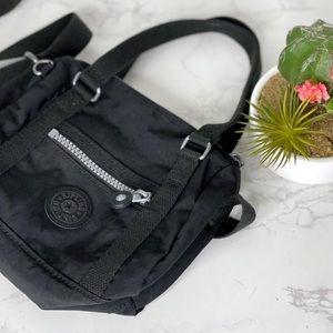 Kipling Black Crossbody Mini Satchel Bag